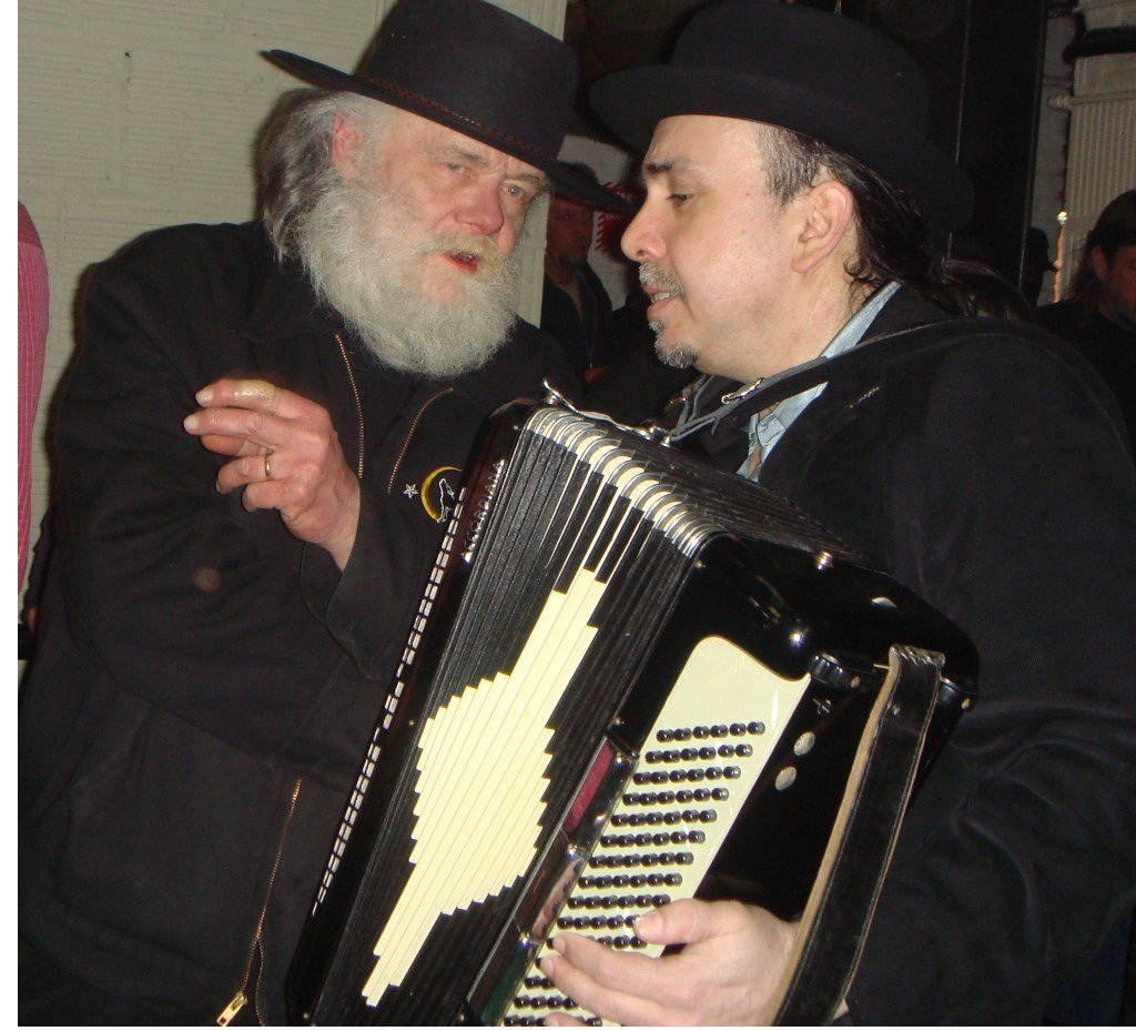 Brian Mitchell with Garth Hudson