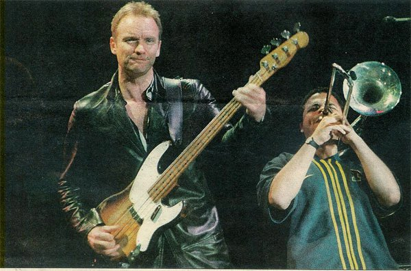 Sting with Clark Gayton