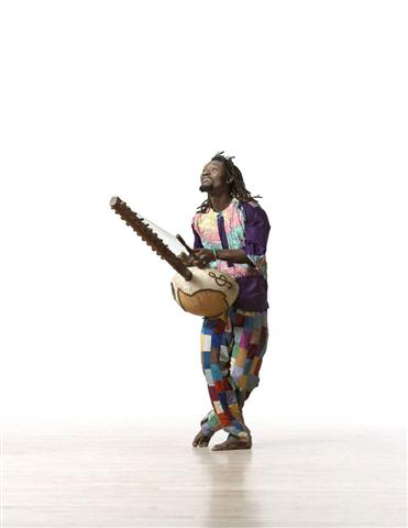 Fode Sissoka with Kora