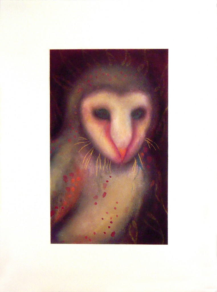 Jan Harrison, Owl, The Corridor Series, Private Collection