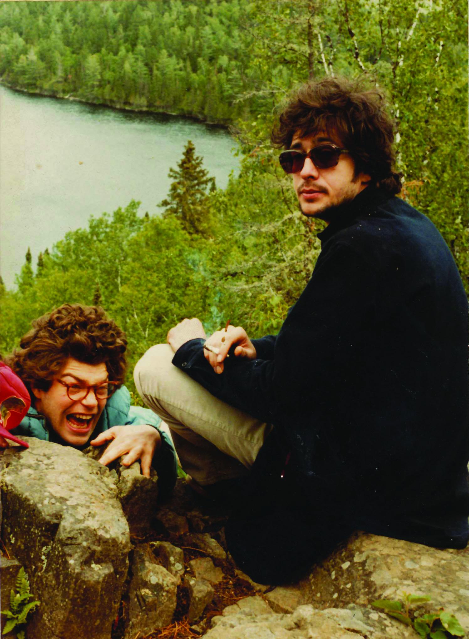 Tom Davis with Al Franken