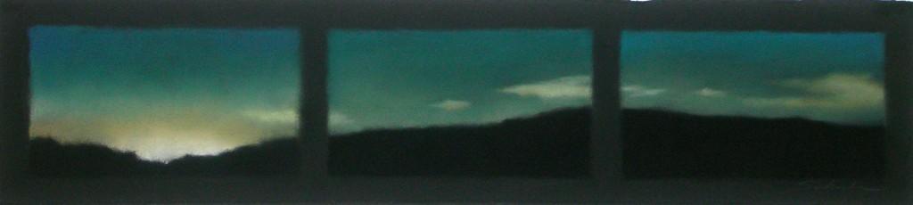Gleam on Turquoise Sky