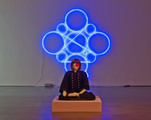 Mai-Thu Perret in collaboration with Ligia Dias, Heroine of the People (Revolutionary), Chris Kendall Photographer