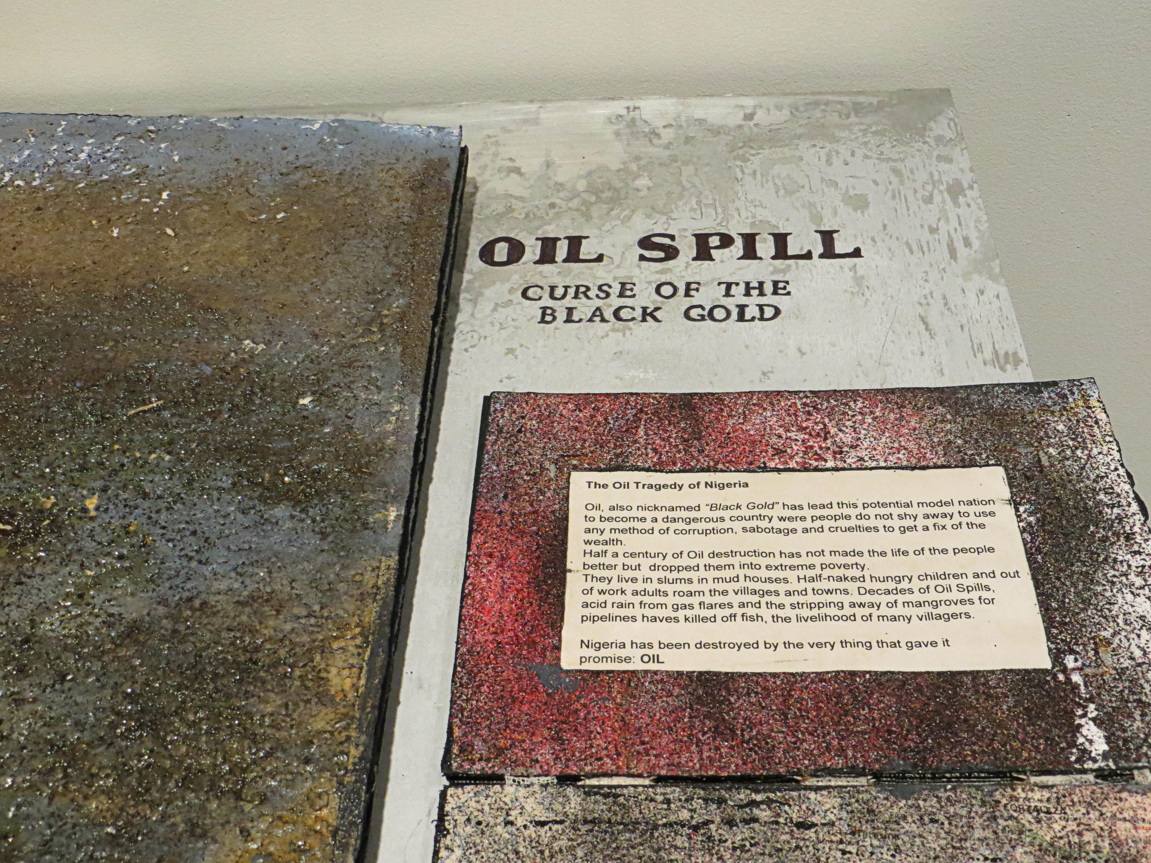 """Ilse Schreiber-Noll's """"Oil Spill Book III"""""""