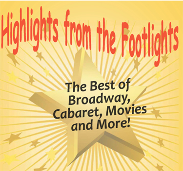 Poster for 'Highlights From The  Footlights' Image Courtesy RPA