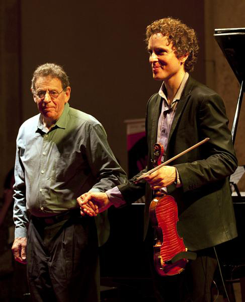 Tim Fain and Philip Glass