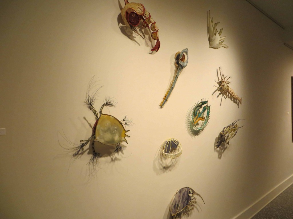 "Christy Rupp, ""Microscopic Filter Feeders, Residing in Gulf of Mexico"""