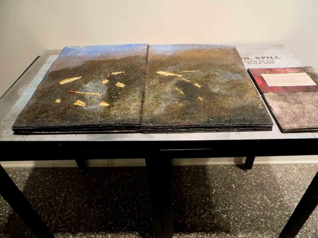 """Ilse Schreiber-Noll, """"Oil Spill Book III"""""""