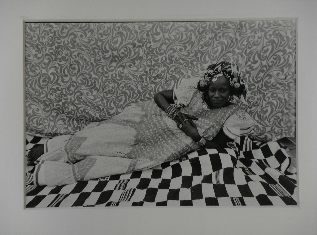 Seydou Keïta, Untitled Reclining Woman