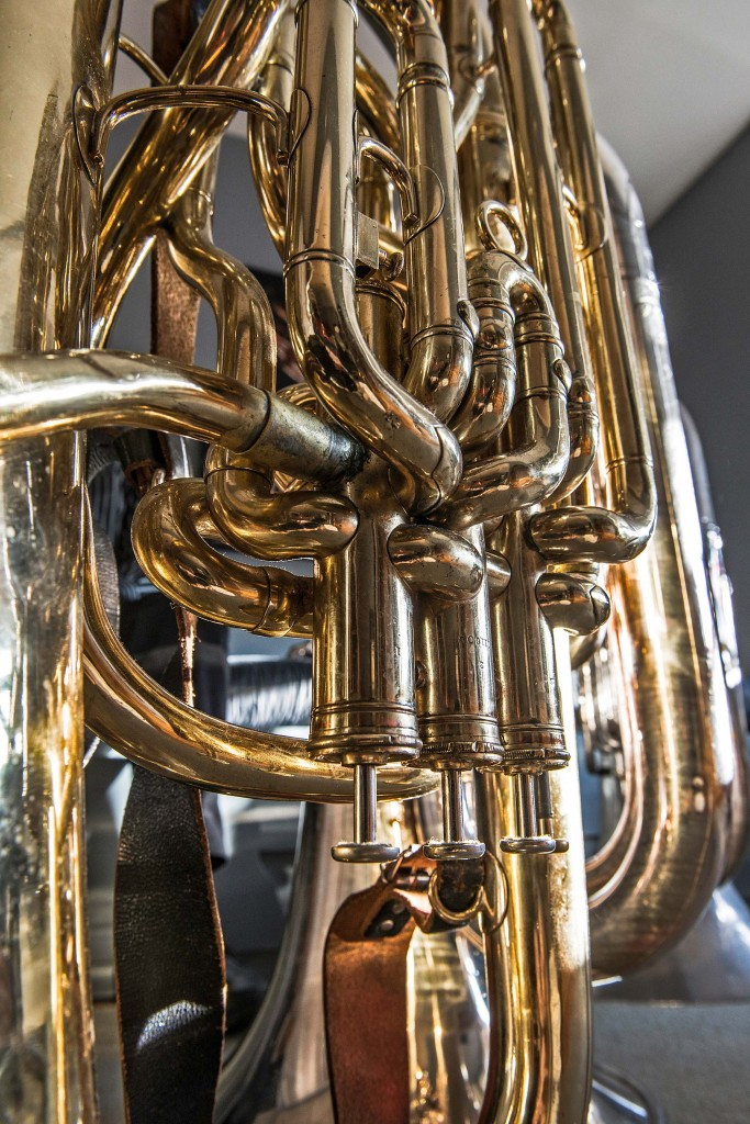 Howard Johnson's Tuba by Catherine Sebastian