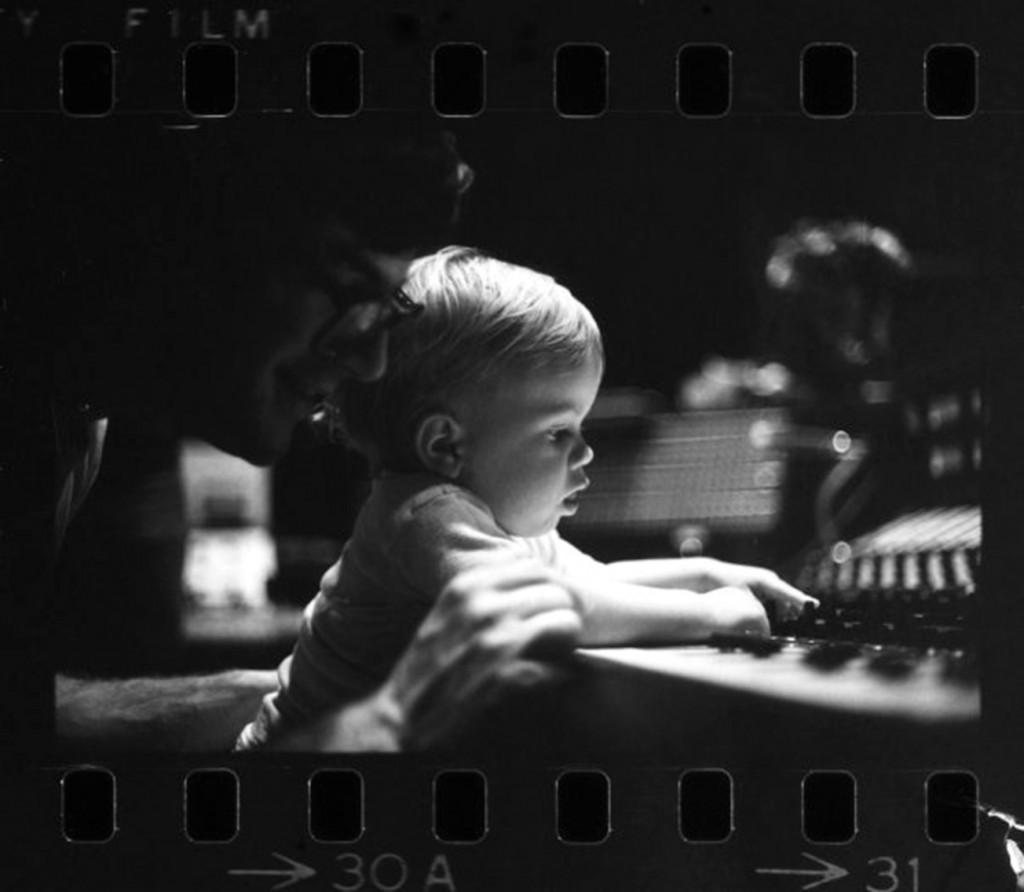 Ben on the studio board