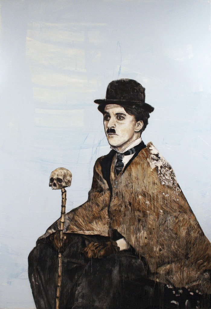 "Charlie Chaplin, (From the series ""Great Americans"") Abshalom Jac Lahav"