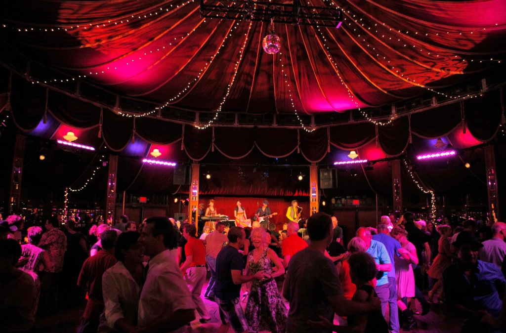 The Bard Summerscape Spiegeltent