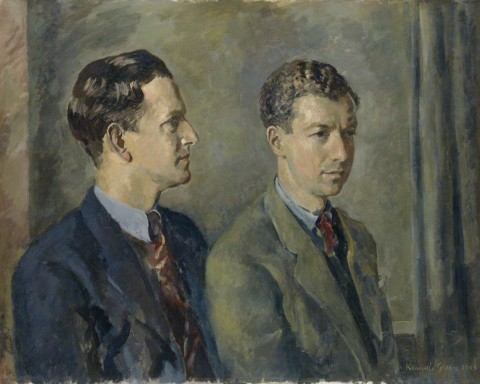 Peter Pears; Benjamin Britten by Kenneth Green