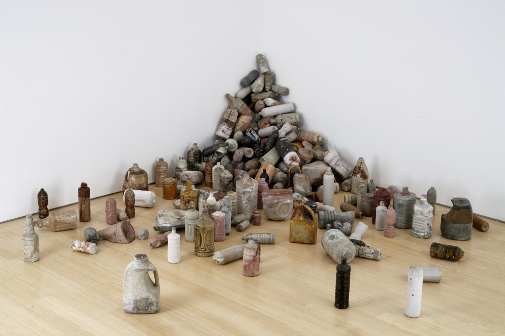 Jason Middlebrook-Cast Concrete Plastic Bottles 2-2008-cast concrete bottles-dimensions variable