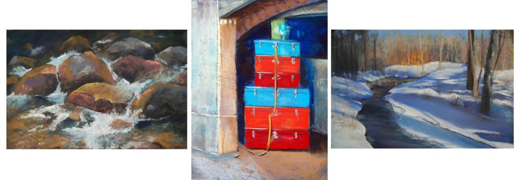 M'Lou Sorrin : acrylics/watercolors/pastels