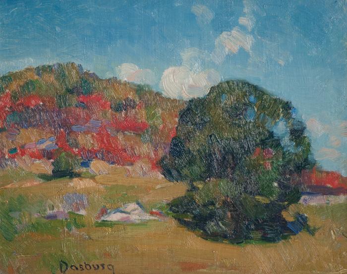 Andrew Dasburg_Woodstock Landscape