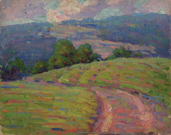 "Edna Thurber, Country Road 1915, 8 x 10""—courtesy of Eric Angeloch."