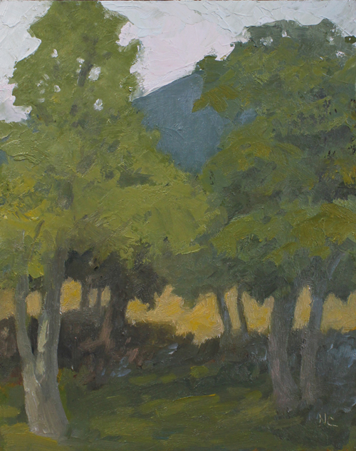 Nancy Campbell, View from Shultis Farm 2011