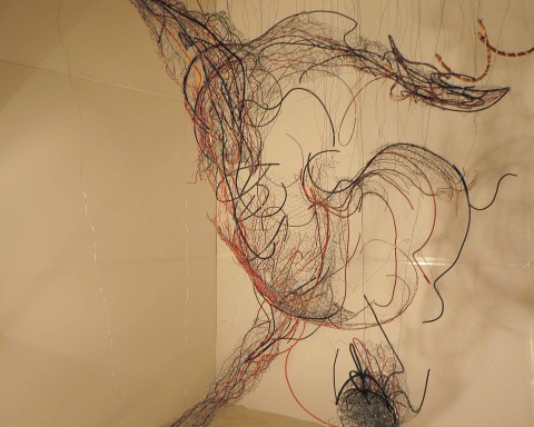 And Then, And Now. Wire Sculpture, Gillian Jagger