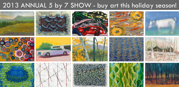 Woodstock Byrdcliffe Guild Annual 5x7 Show