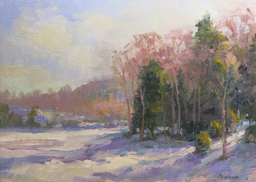 Shadows On The Snow. Marilyn Fairman