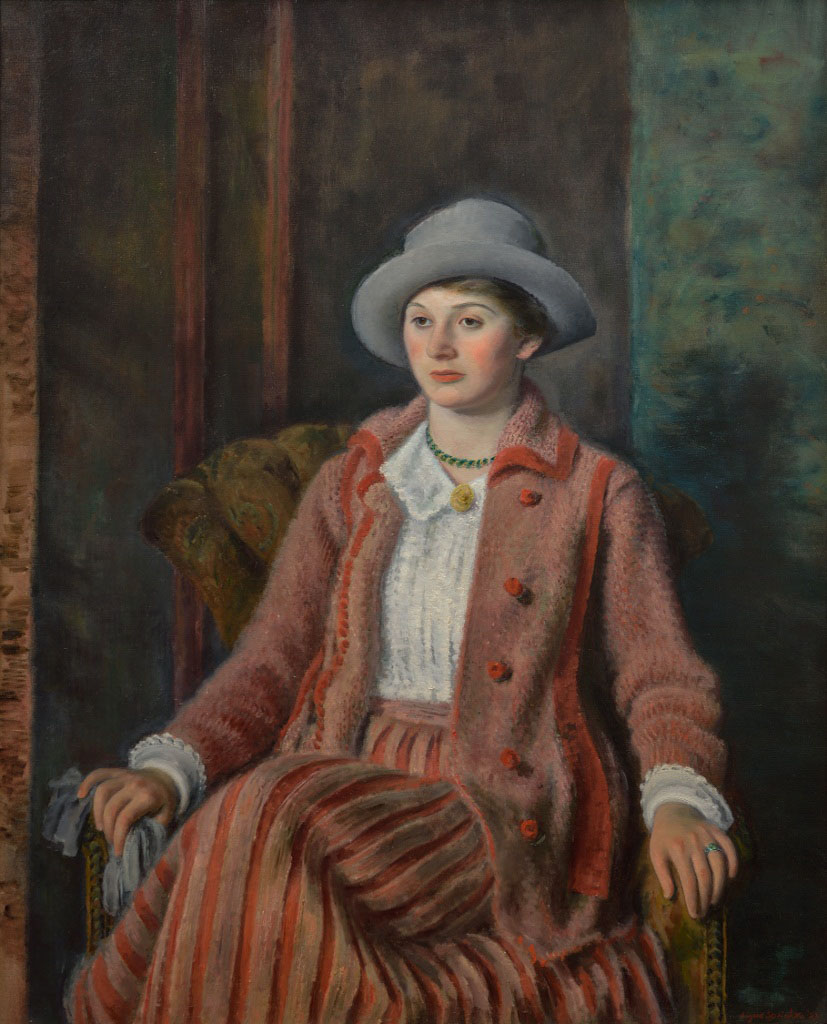Eugene Speicher-Portrait of a Young Girl