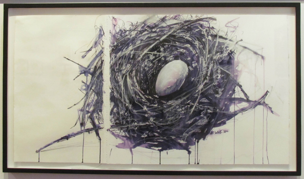 "Margaret de soleil, ""Nest with egg"""