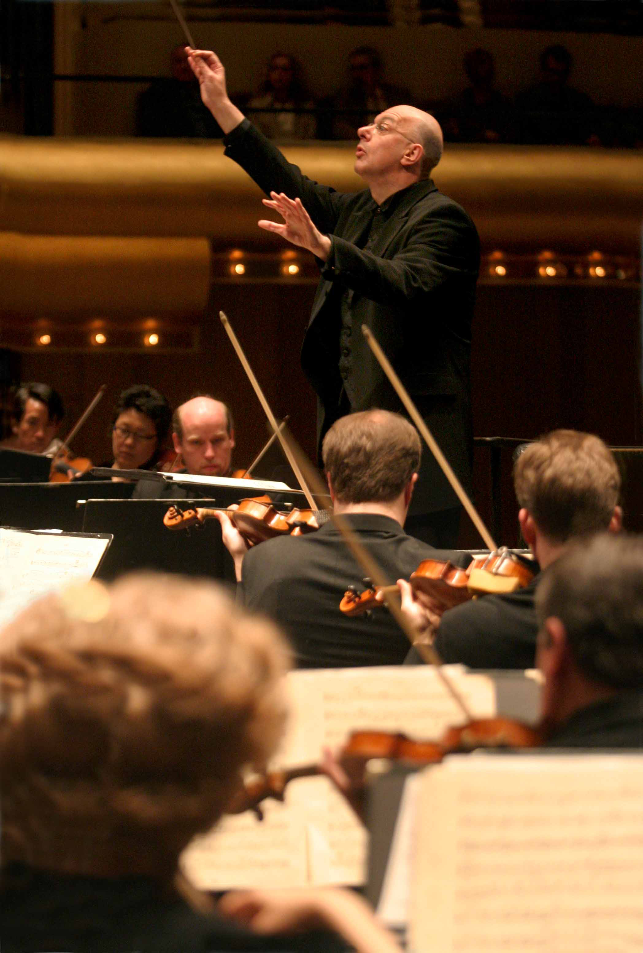 Leon Botstein with the American Symphony Orchestra