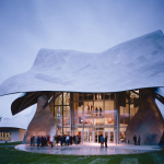 The Richard B. Fisher Center for the Performing Arts at Bard College - Photo by Peter Aaron/Esto