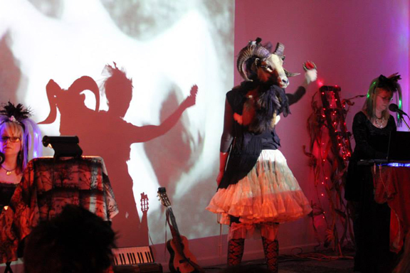 Ryder Cooley, Performance with Hazel and the Dust Bowl Faeries