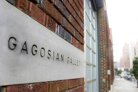 Gagosian Gallery, Chelsea, NY, photo by Claire Lambe