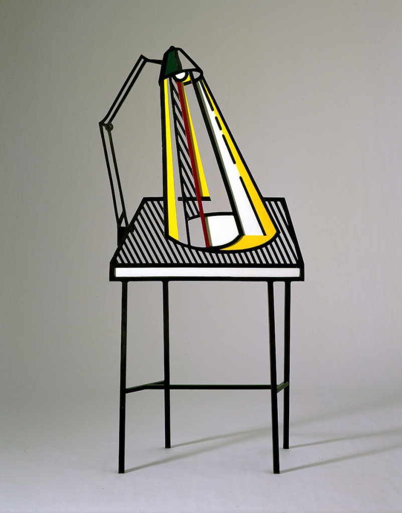 Roy Lichtenstein, Lamp on Table, 1977