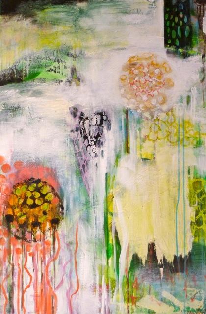 "Landscape with Vas, 2014. 36"" x 24"""