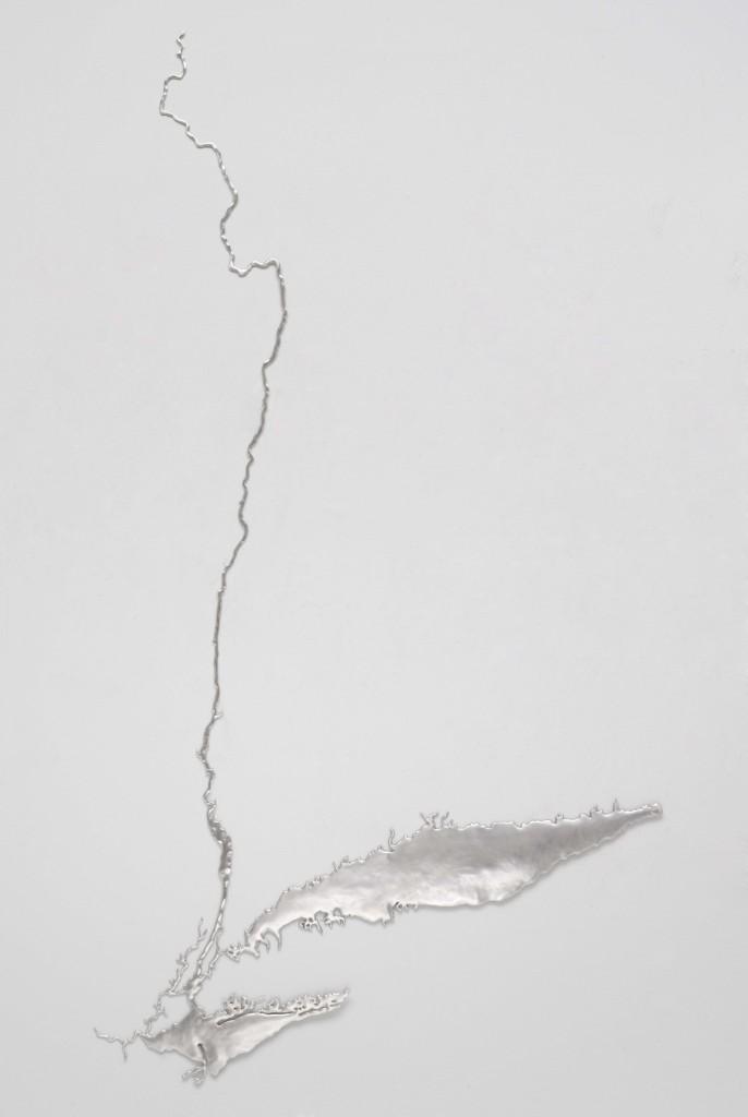 Maya Lin, Silver River Hudson