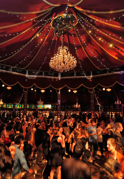 Bard SummerScape Spiegeltent-photo by Cory Weaver