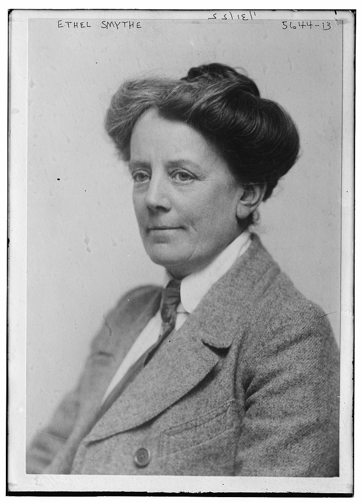 Dame Ethel Smyth-1922-from the George Grantham Bain Collection (Library of Congress Prints and Photographs Division, Washington, D.C.)