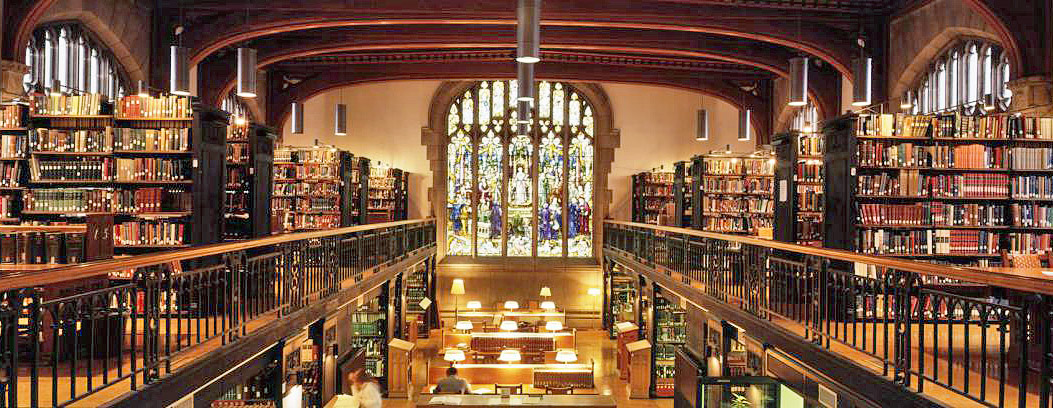 Thompson Memorial Library (interior), Vassar College