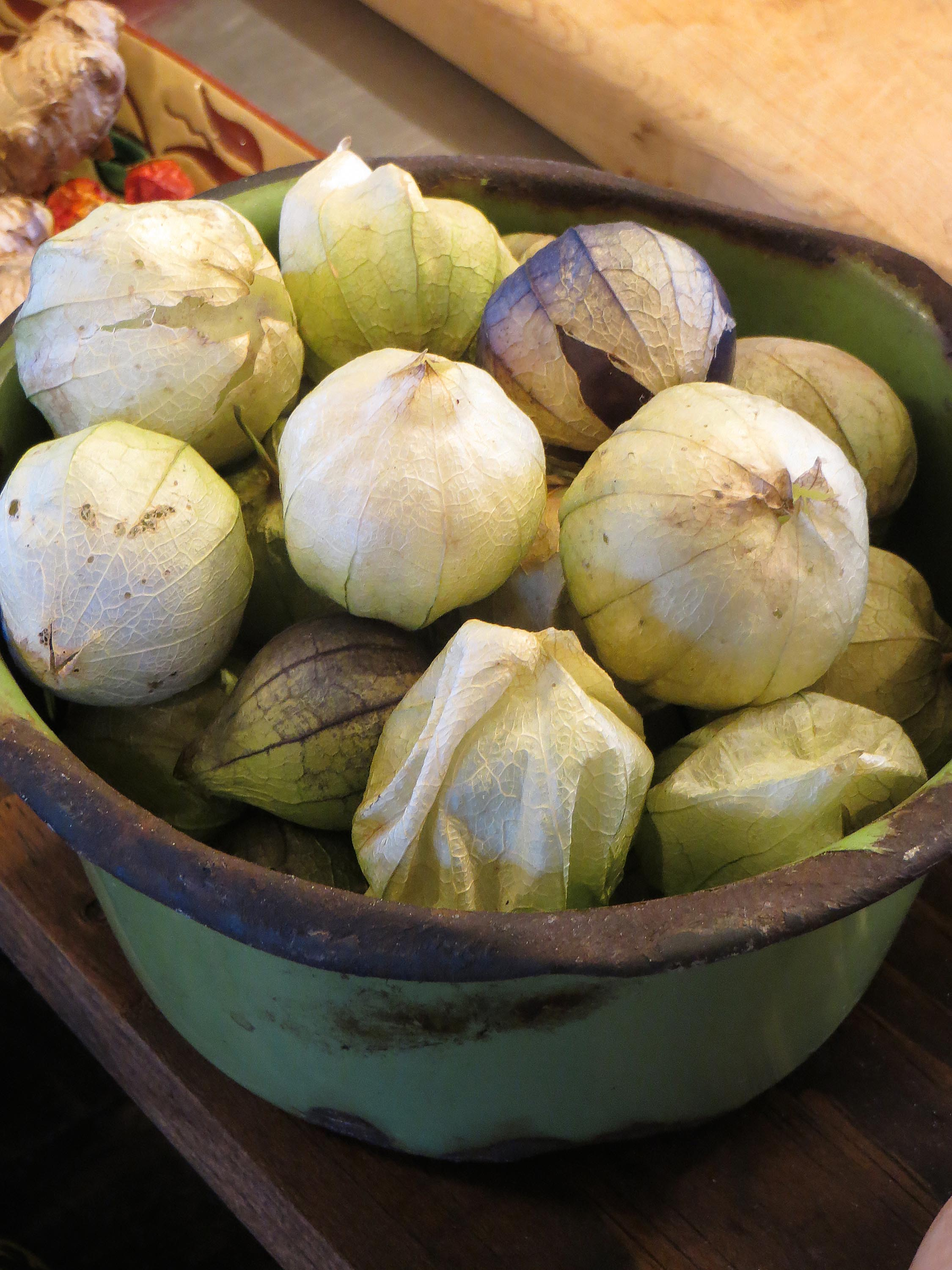 tomatillos from the garden