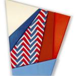 RWB, 201556  48 x 4 inches oil, acrylic, upholstery, fabric, canvas, andpolyurethane foam on insulation board