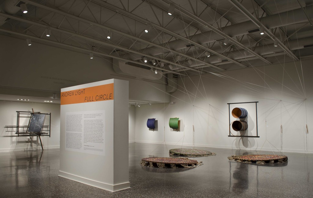 Andrew Lyght: Full Circle, installation view at Samuel Dorsky Museum of Art, SUNY New Paltz, 2016