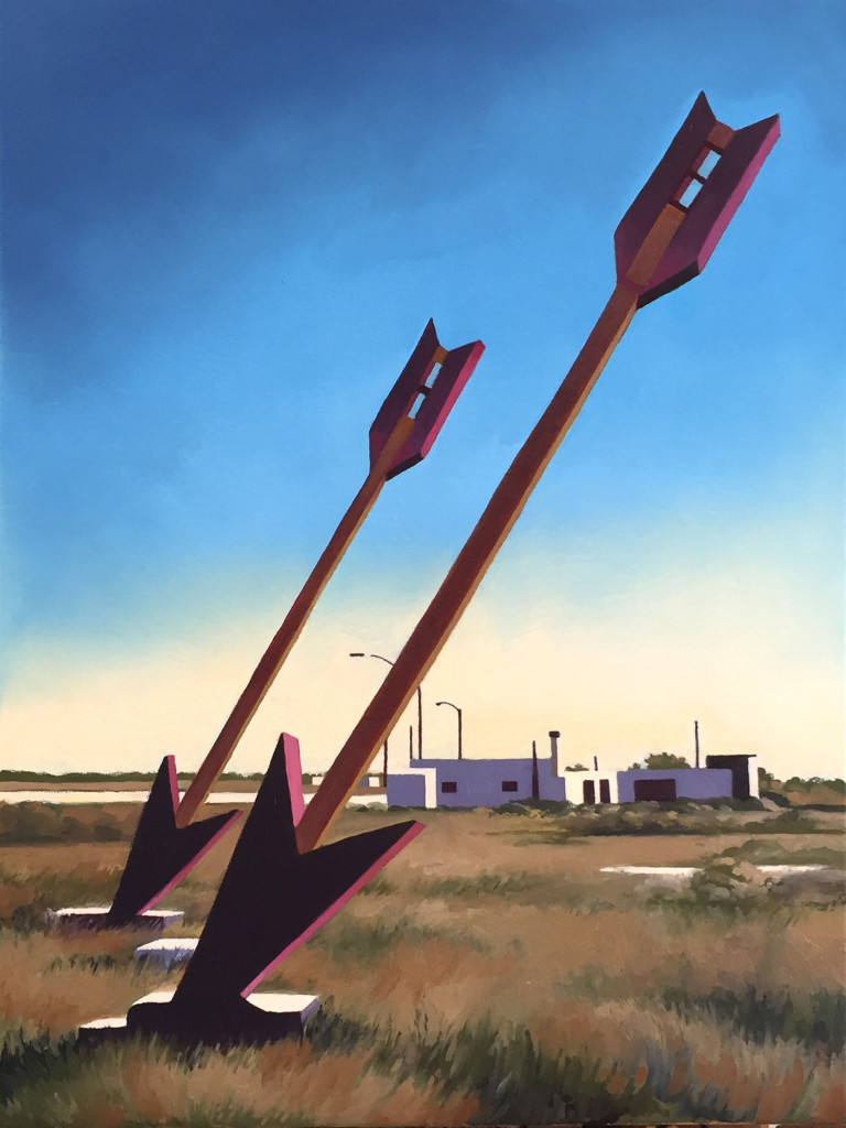 Mary Anne Erickson, Twin Arrows, Route 66