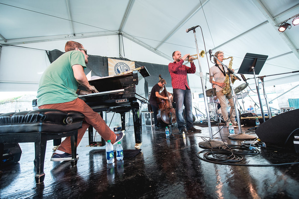Amir Elsaffar Quintet performs at the 2014 Newport Jazz Festival