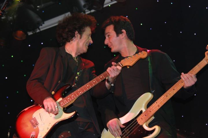 Johnny Pisano with Willie Nile
