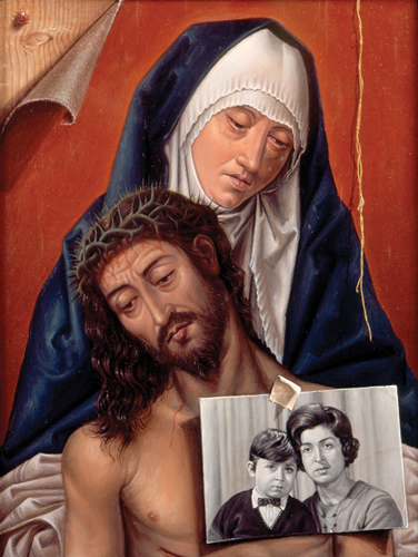Mother-and-Child-with-painted-photo-of-artist-with-mother-Oil-on-Wood-11.5_x8.5_.jpg