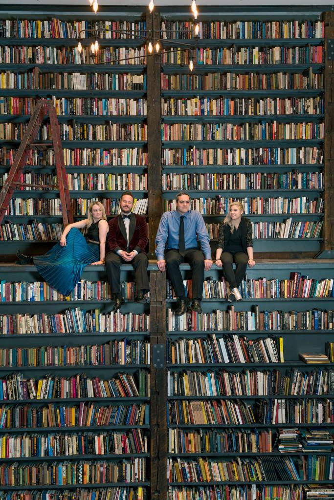 Spektral Quartet photo by Dan Kullman
