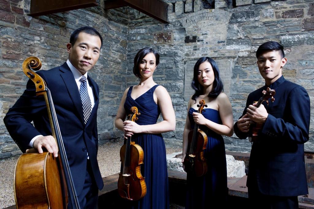 Parker Quartet at Maverick Concerts