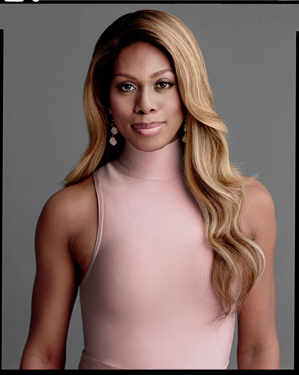 Timothy Greenfield-Sanders, Laverne Cox, 2015, inkjet print, courtesy the artist